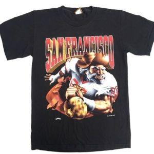 Vintage San Francisco 49ers Forty Niners Tshirt M